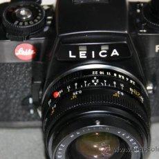 Cámara de fotos: LEICA R4 CON OBJETIVO LEITZ WETZLAR ELMARIT-R 28 MM F2.8. Lote 37756981