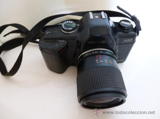 Cámara de fotos: CÁMARA DE FOTOS YASHICA 108 MULTIPROGRAM. EN - Foto 4 - 37767379