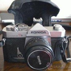 Cámara de fotos: KONICA AUTOREFLEX T3 + OBJETIVO HEXANON 50MM F:1,8. Lote 38193587