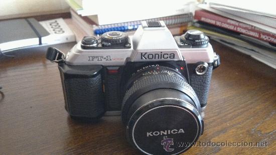 KONICA FT-1 SRL MOTOR + HEXANON F1.7 50MM (Cámaras Fotográficas - Réflex (no autofoco))
