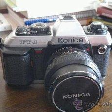 Cámara de fotos: KONICA FT-1 SRL MOTOR + HEXANON F1.7 50MM. Lote 38193913