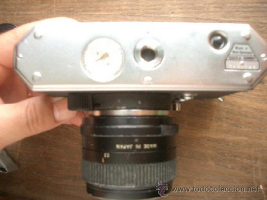 Cámara de fotos: Cámara EDIXA PRISMAT LTL + objetivo SUPER-PARAGON 1:2.8 28mm montura M42 - Foto 5 - 38190763