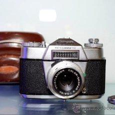 Cámara de fotos: VOIGTLANDER BESSAMATIC + OBJETIVO SKOPAR X 2.8/50MM +FUNDA. Lote 38620466