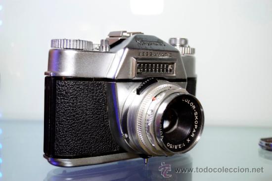 Cámara de fotos: VOIGTLANDER BESSAMATIC + OBJETIVO SKOPAR X 2.8/50mm +Funda - Foto 3 - 38620466