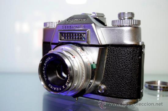 Cámara de fotos: VOIGTLANDER BESSAMATIC + OBJETIVO SKOPAR X 2.8/50mm +Funda - Foto 5 - 38620466