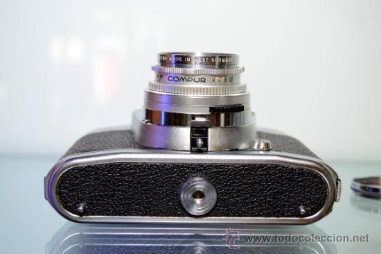 Cámara de fotos: VOIGTLANDER BESSAMATIC + OBJETIVO SKOPAR X 2.8/50mm +Funda - Foto 4 - 38620466