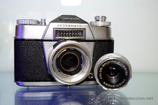 Cámara de fotos: VOIGTLANDER BESSAMATIC + OBJETIVO SKOPAR X 2.8/50mm +Funda - Foto 6 - 38620466