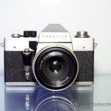 Cámara de fotos: PRAKTICA LTL + JENA 50MM 2,8. Lote 38713349