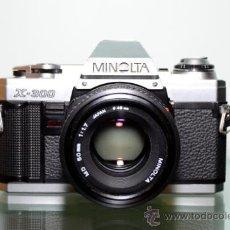 Cámara de fotos: MINOLTA X-300 + MINOLTA 50 MM 1:1,7. Lote 39018704