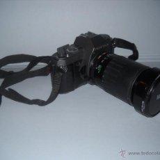 Cámara de fotos: PENTAX P30-T CON OBJETIVO 72 MM VIVITAR 28-210 MACRO FOCUSING ZOOM.. Lote 40430219