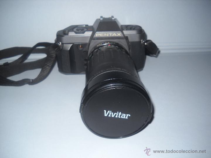 Cámara de fotos: PENTAX P30-T CON OBJETIVO 72 MM VIVITAR 28-210 MACRO FOCUSING ZOOM. - Foto 2 - 40430219
