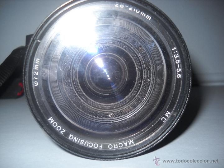 Cámara de fotos: PENTAX P30-T CON OBJETIVO 72 MM VIVITAR 28-210 MACRO FOCUSING ZOOM. - Foto 3 - 40430219