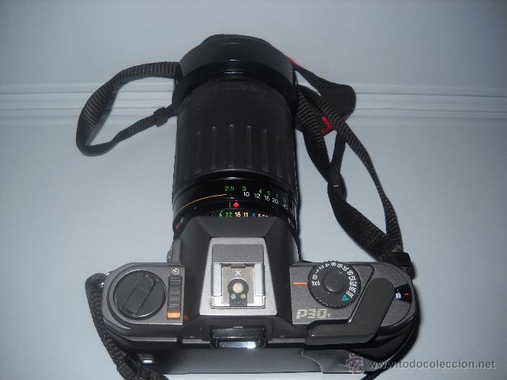 Cámara de fotos: PENTAX P30-T CON OBJETIVO 72 MM VIVITAR 28-210 MACRO FOCUSING ZOOM. - Foto 4 - 40430219