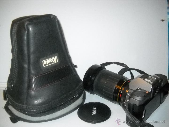 Cámara de fotos: PENTAX P30-T CON OBJETIVO 72 MM VIVITAR 28-210 MACRO FOCUSING ZOOM. - Foto 5 - 40430219