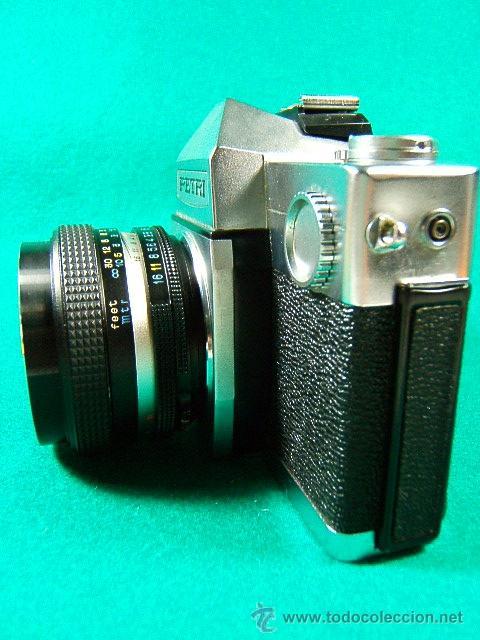 Cámara de fotos: PETRI TTL-REFLEX CON OBJETIVO PETRI CC AUTO 1:1,8-F=55MM-ASA 25-1600-1 SEG. A 1.000-CAMARA FOTOS... - Foto 2 - 79945067
