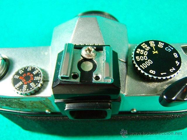 Cámara de fotos: PETRI TTL-REFLEX CON OBJETIVO PETRI CC AUTO 1:1,8-F=55MM-ASA 25-1600-1 SEG. A 1.000-CAMARA FOTOS... - Foto 4 - 79945067