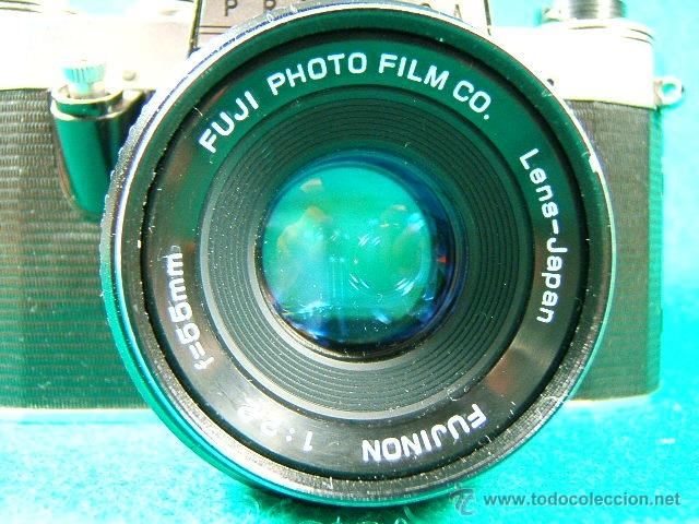 Cámara de fotos: PRAKTICA NOVA-GERMANY-OBJ:FUJINON 1:2,2-55 MM-FUJI JAPAN-REFLEX Y OBJETIVO ROSCA UNIVERSAL-CAMARA... - Foto 2 - 40943148