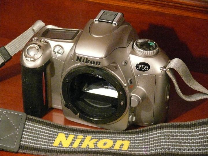 CUERPO DE CAMARA NIKON F 55 (Cámaras Fotográficas - Réflex (no autofoco))