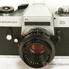Cámara de fotos: LEICA LEICAFLEX SL CON SUMMICRON 50MM/2 ¡IMPECABLE¡. Lote 16075169