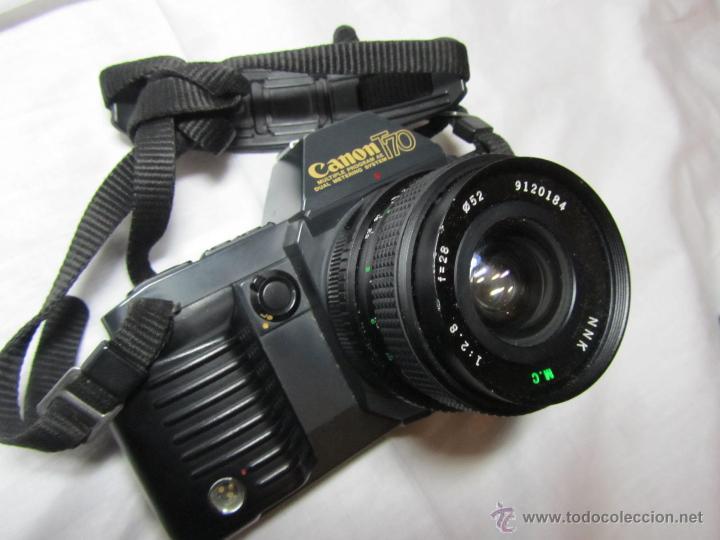 Cámara de fotos: Máquina de fotos Canon T 70 - Foto 2 - 41737317
