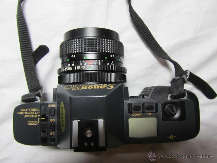 Cámara de fotos: Máquina de fotos Canon T 70 - Foto 5 - 41737317