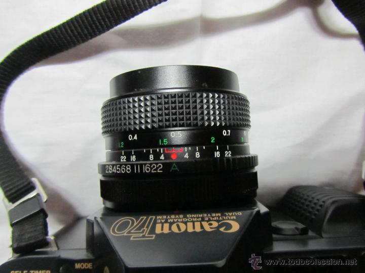 Cámara de fotos: Máquina de fotos Canon T 70 - Foto 6 - 41737317