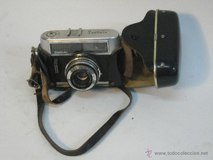 VOIGTLANDER VITORET RAPID D. 1965 (Cámaras Fotográficas - Réflex (no autofoco))