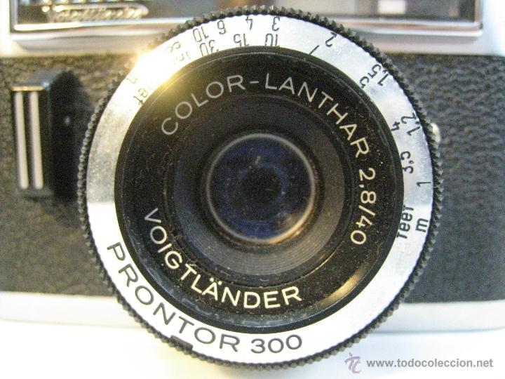 Cámara de fotos: VOIGTLANDER VITORET RAPID D. 1965 - Foto 2 - 42414951