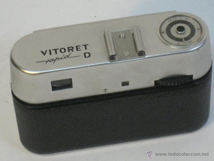 Cámara de fotos: VOIGTLANDER VITORET RAPID D. 1965 - Foto 6 - 42414951