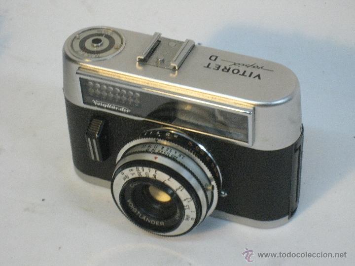 Cámara de fotos: VOIGTLANDER VITORET RAPID D. 1965 - Foto 7 - 42414951