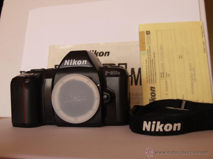 NIKON F601M / REFLEX / FUNCIONANDO Y EN EXCELENTE ESTADO (Cámaras Fotográficas - Réflex (no autofoco))