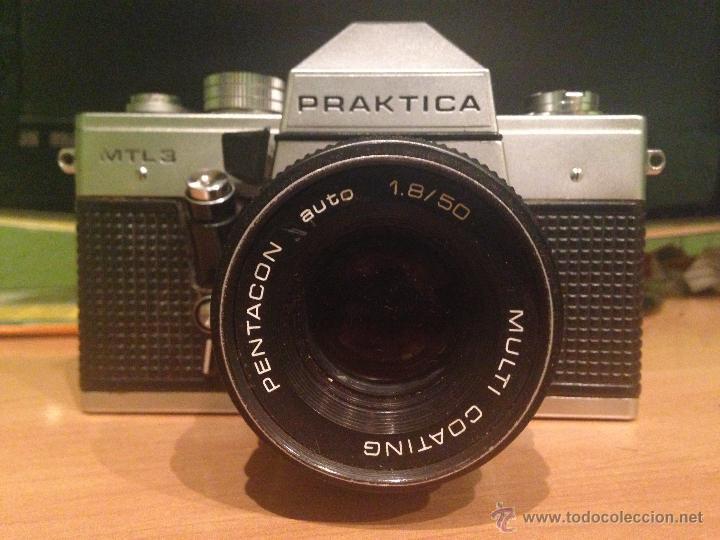 Praktica mtl mm slr film camera body only ebay