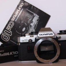 Cámara de fotos: OLYMPUS OM10 / FUNCIONANDO Y EN MUY BUEN ESTADO. Lote 43584587