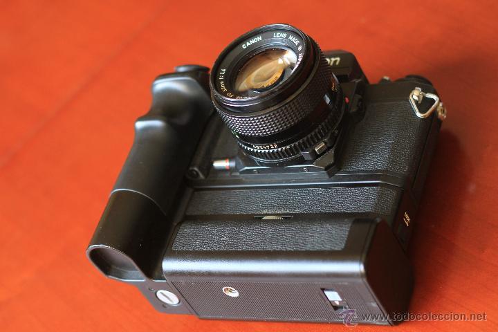 Cámara de fotos: Canon F1 + Mot drive + 50 1,4 fd SC.PERFECTA - Foto 2 - 43729377