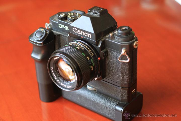Cámara de fotos: Canon F1 + Mot drive + 50 1,4 fd SC.PERFECTA - Foto 3 - 43729377