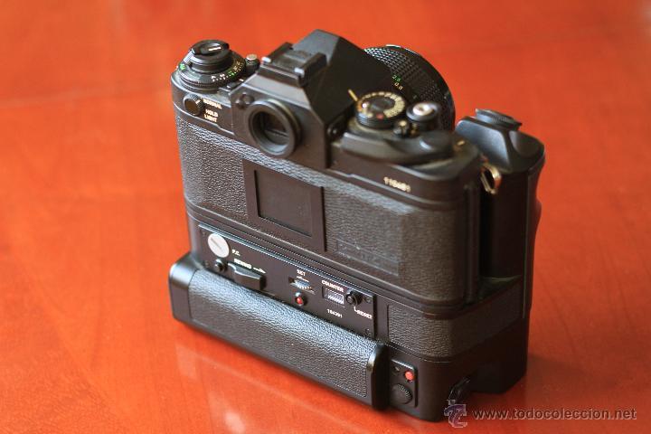 Cámara de fotos: Canon F1 + Mot drive + 50 1,4 fd SC.PERFECTA - Foto 4 - 43729377