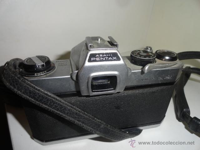 Cámara de fotos: REFLEX ASAHI PENTAX SP 1000 CON 2 OBJETIVOS ZOOM SIGMA 80-200 MM.Y CHINION 1/17 55MM - Foto 3 - 43853484
