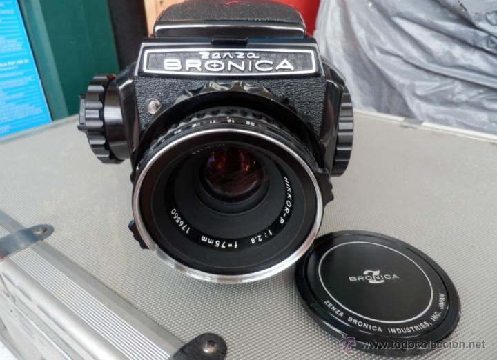 ZENZA BRONICA 6X6 S2A (COMPLETA) (Cámaras Fotográficas - Réflex (no autofoco))