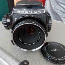 Cámara de fotos: ZENZA BRONICA 6X6 S2A (COMPLETA). Lote 44206419