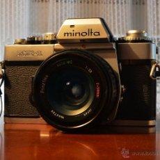 Cámara de fotos: MINOLTA XE-1 + PRINZFLEX 28/2.8 +ADAPTADOR ROSCA M42 A MINOLTA. Lote 44826871