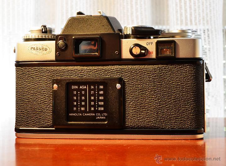 Cámara de fotos: MINOLTA XE-1 + PRINZFLEX 28/2.8 +ADAPTADOR ROSCA M42 A MINOLTA - Foto 2 - 44826871