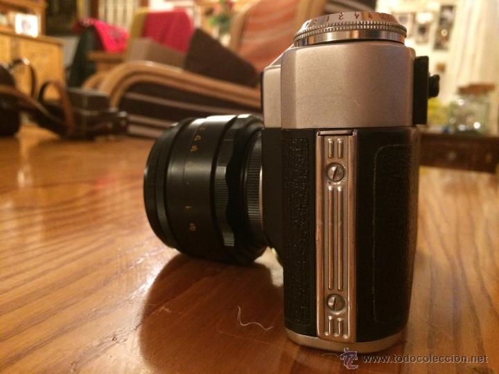Cámara de fotos: Camara Zenit 3EHNT original Vintaje cámara URSS RUSIA en funda original - Foto 4 - 46247475