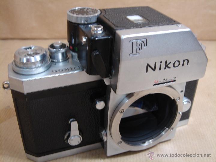 CUERPO NIKON F FTN - 35 MM SLR CON PHOTOMIC T - AÑO 1970 - ¡¡¡ FUNCIONANDO ¡¡¡ (Cámaras Fotográficas - Réflex (no autofoco))
