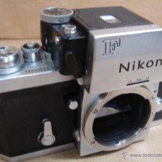 Cámara de fotos: CUERPO NIKON F FTN - 35 MM SLR CON PHOTOMIC T - AÑO 1970 - ¡¡¡ FUNCIONANDO ¡¡¡. Lote 46418503