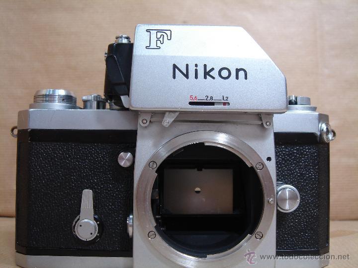 Cámara de fotos: CUERPO NIKON F FTN - 35 MM SLR CON PHOTOMIC T - AÑO 1970 - ¡¡¡ FUNCIONANDO ¡¡¡ - Foto 2 - 46418503