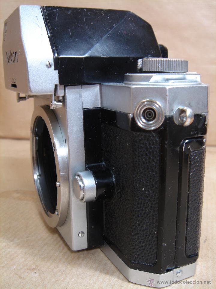 Cámara de fotos: CUERPO NIKON F FTN - 35 MM SLR CON PHOTOMIC T - AÑO 1970 - ¡¡¡ FUNCIONANDO ¡¡¡ - Foto 3 - 46418503