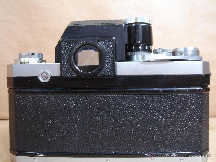 Cámara de fotos: CUERPO NIKON F FTN - 35 MM SLR CON PHOTOMIC T - AÑO 1970 - ¡¡¡ FUNCIONANDO ¡¡¡ - Foto 4 - 46418503