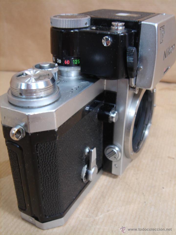 Cámara de fotos: CUERPO NIKON F FTN - 35 MM SLR CON PHOTOMIC T - AÑO 1970 - ¡¡¡ FUNCIONANDO ¡¡¡ - Foto 5 - 46418503