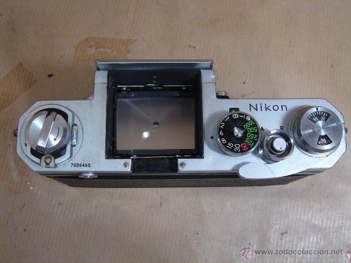 Cámara de fotos: CUERPO NIKON F FTN - 35 MM SLR CON PHOTOMIC T - AÑO 1970 - ¡¡¡ FUNCIONANDO ¡¡¡ - Foto 7 - 46418503