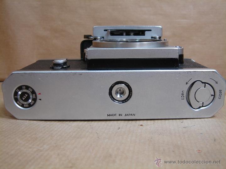 Cámara de fotos: CUERPO NIKON F FTN - 35 MM SLR CON PHOTOMIC T - AÑO 1970 - ¡¡¡ FUNCIONANDO ¡¡¡ - Foto 8 - 46418503